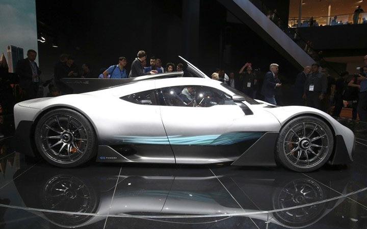 Экстерьер Mercedes-AMG Project 2020-2021