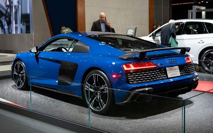 Экстерьер Audi R8 2020-2021