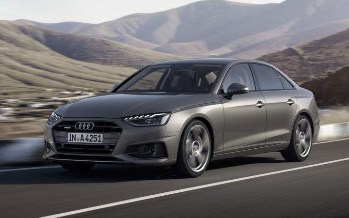 Новая Audi А4 2020-2021