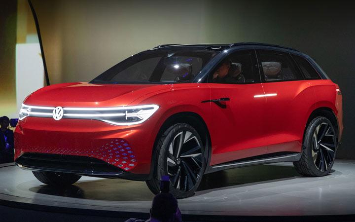 Volkswagen ID. Space Vizzion 2020-2021