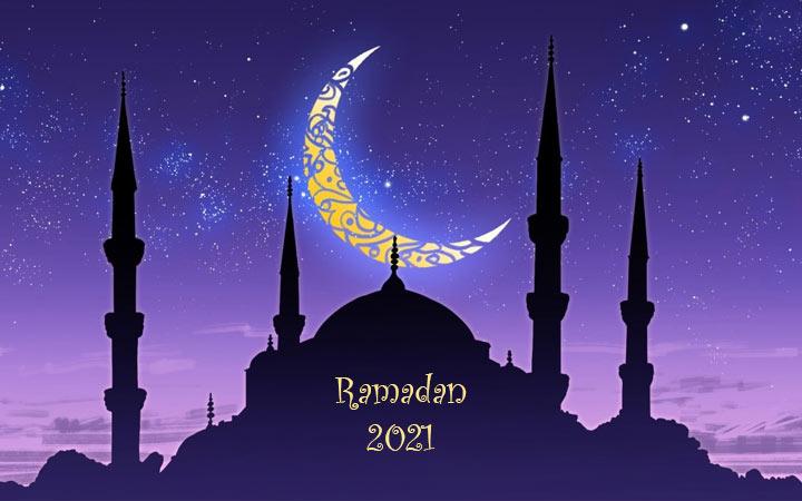 Начало Рамадана (дата) в апреле 2021 года