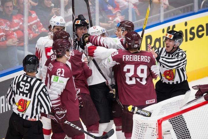 Сборная Латвии по хоккею