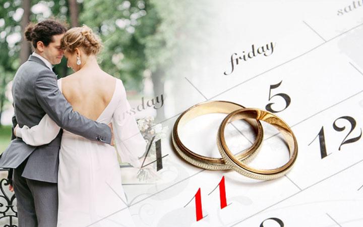 Как выбрать дату свадьбы в 2021 году