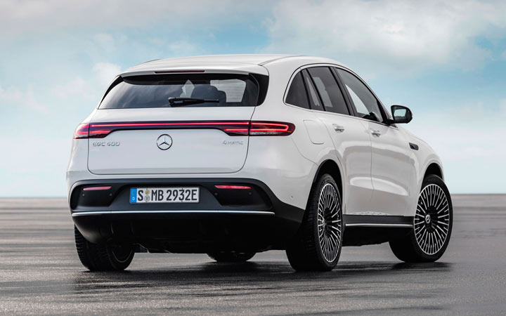 Новый Mercedes-Benz EQC 2020-2021