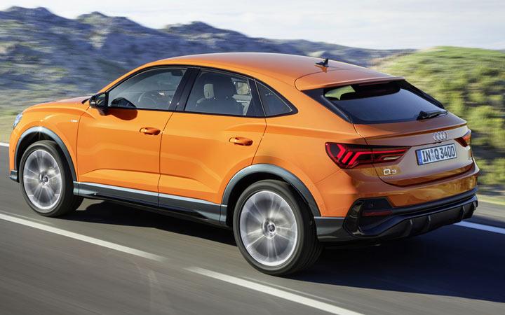 Audi Q3 Sportback и другие кроссоверы 2020-2021 года