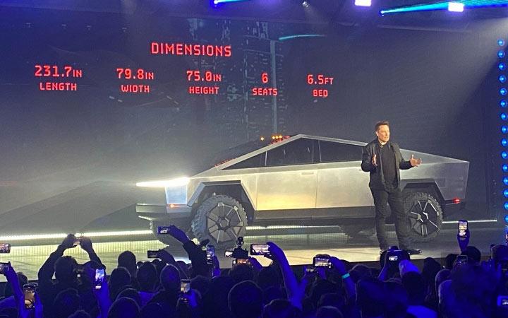 Новый пикап Тесла 2021 года