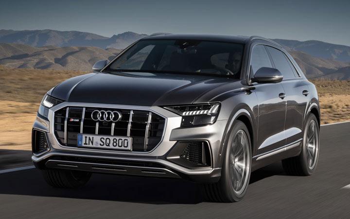 Audi SQ8 2020-2021 года