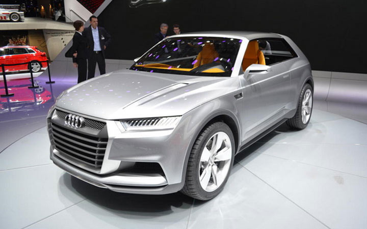 Экстерьер Audi Q9 2020-2021 года
