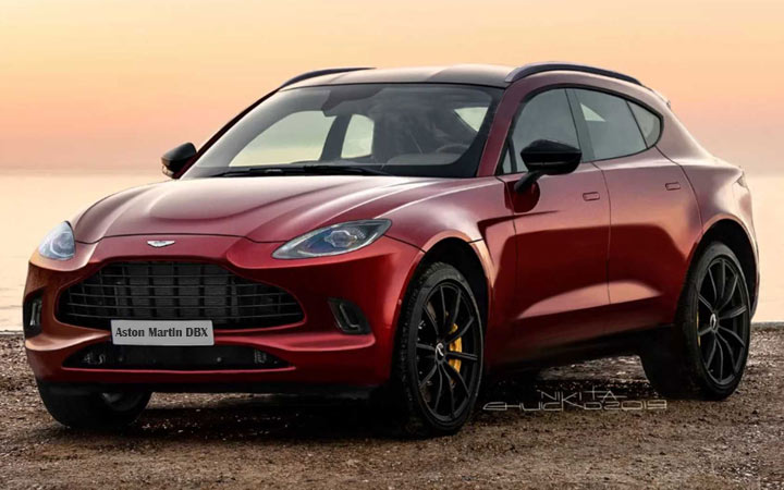 Aston Martin DBX 2020-2021