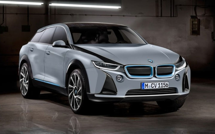 BMW iNext (iX) 2020-2021