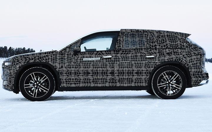BMW iNext (iX) 2020-2021 первые фото