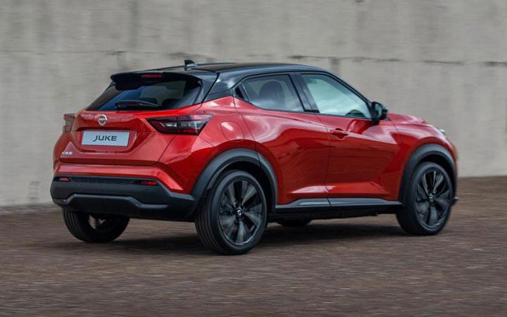 Экстерьер Nissan Juke 2020-2021 года