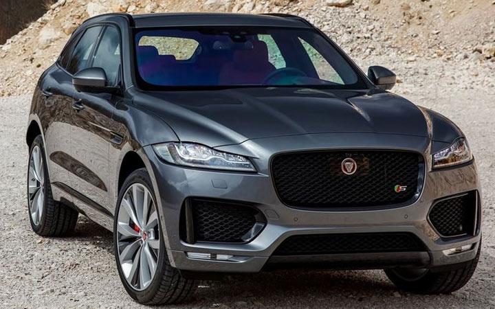 Внедорожник Jaguar J-Pace 2020-2021