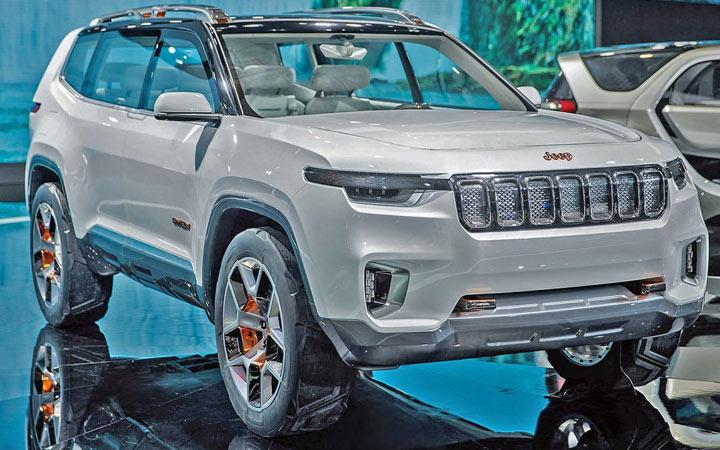 Внедорожник Jeep Grand Wagoneer 2020-2021