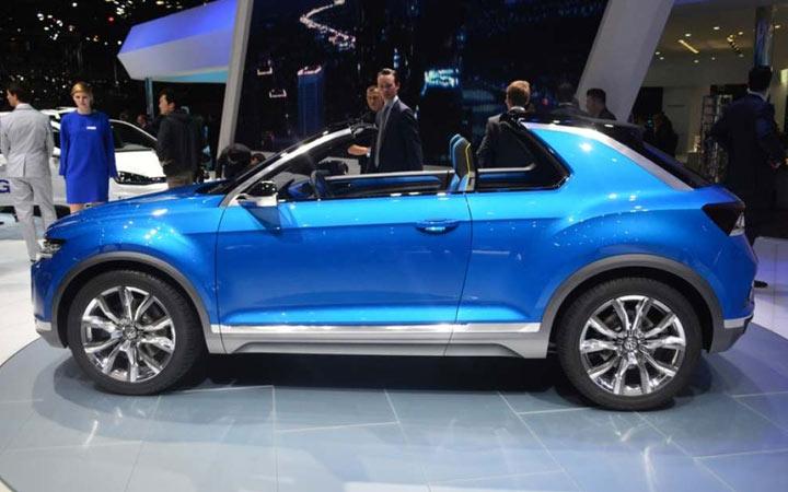 Внедорожный VW T-Roc Convertible 2020-2021