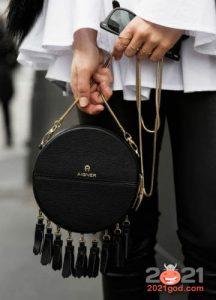 Черная сумка на Новый Год 2021