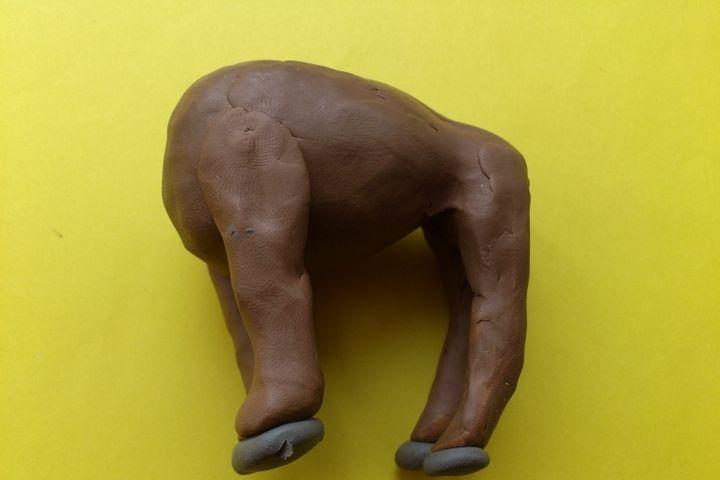 Мастер-класс по изготовлению теленка из пластилина