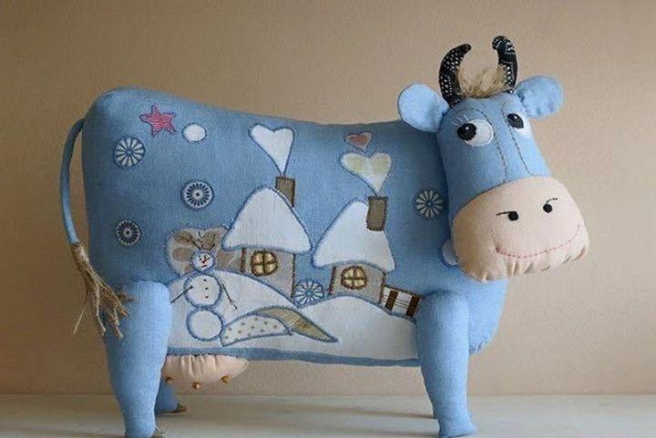 Подушка-корова