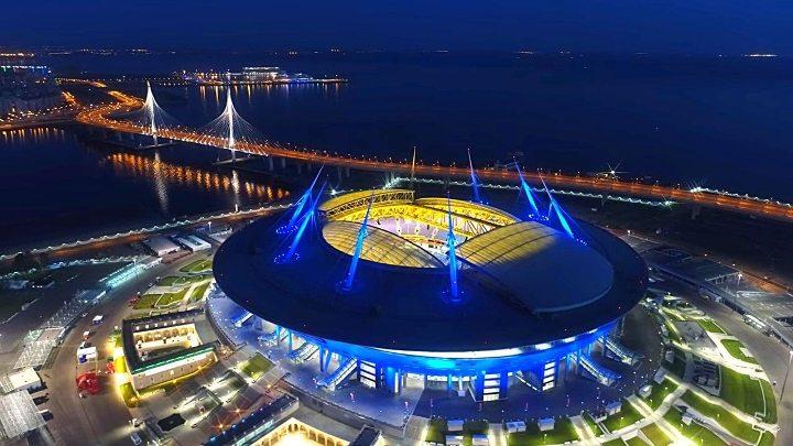 стадион Газпром-арена на Крестовском острове
