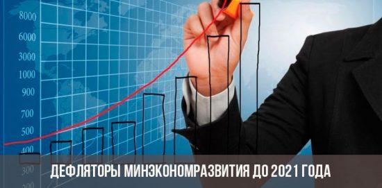 Индексы дефляторы от минэкономразвития