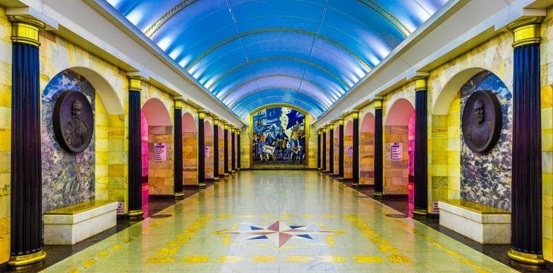 Метро в Санкт-Петербурге