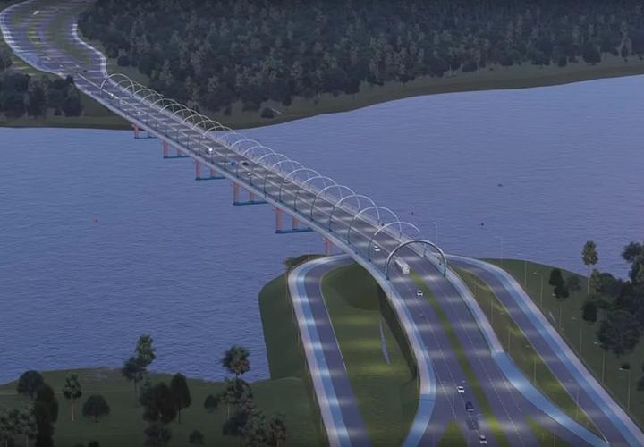 Проект моста через Тагильский пруд