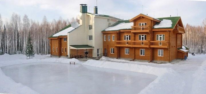 загородная турбаза в новосибирске зимой