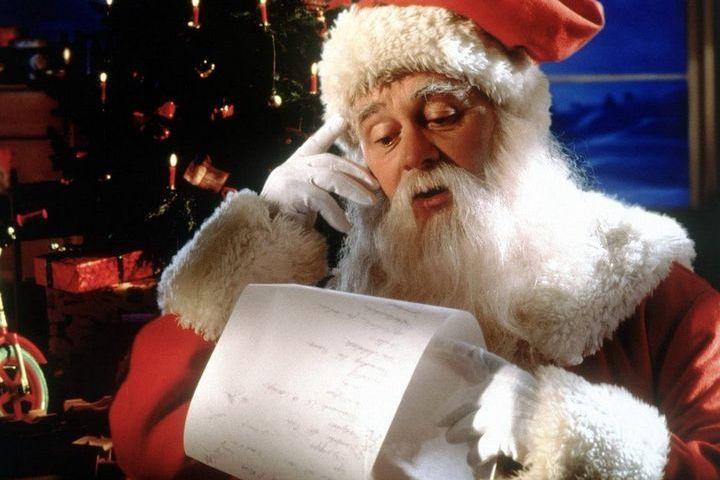 Дедушка Мороз читает письма