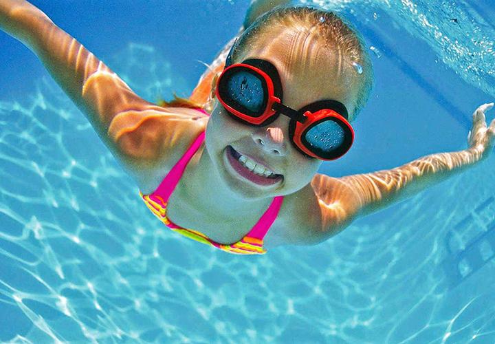 Детские занятия по плаванию