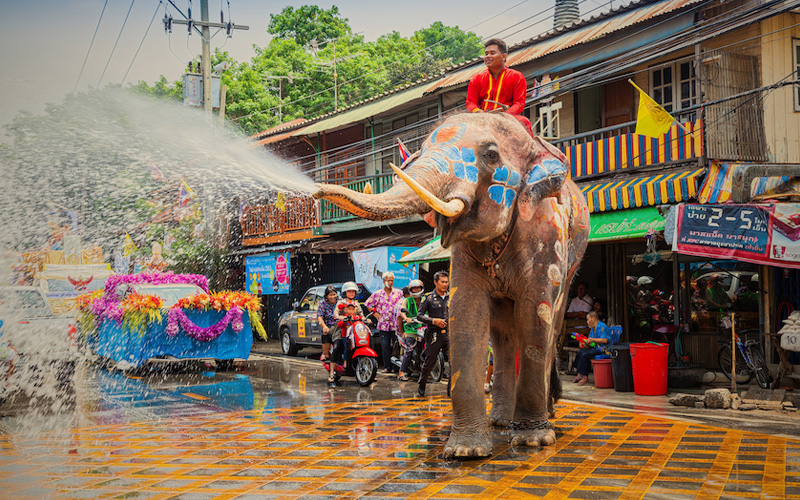 Сонгкран - Тайский Новый год - даты в 2021