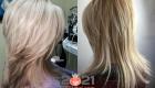 Модная лесенка - стрижки на средние волосы