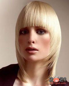 Сессон - модные стрижки на средние волосы в 2020 и 2021 году