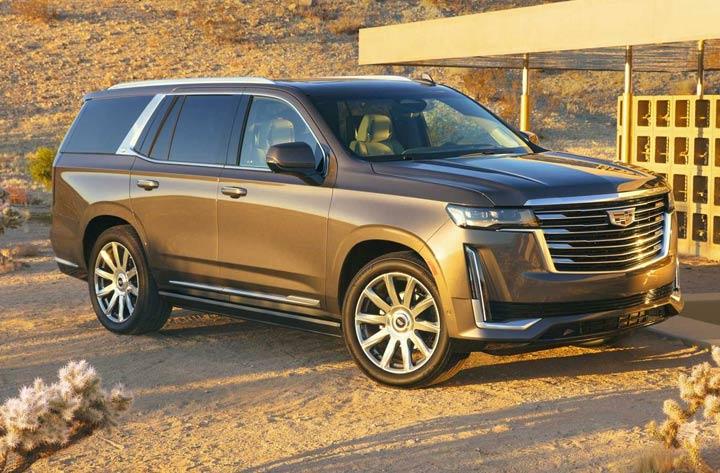 Экстерьер Cadillac Escalade 2021 года