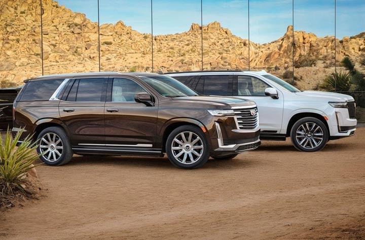 Габариты нового Cadillac Escalade 2021 года