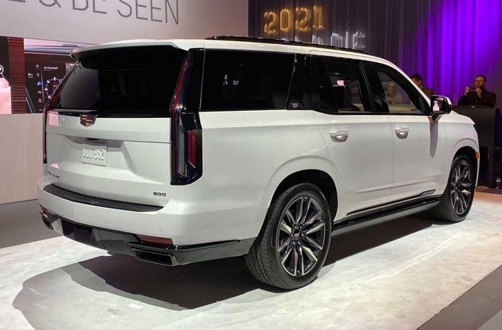 Багажник Cadillac Escalade 2021 года