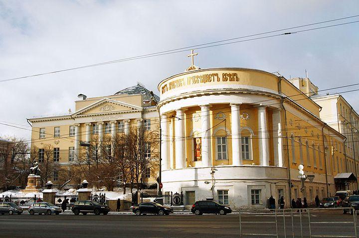 Храм при МГУ
