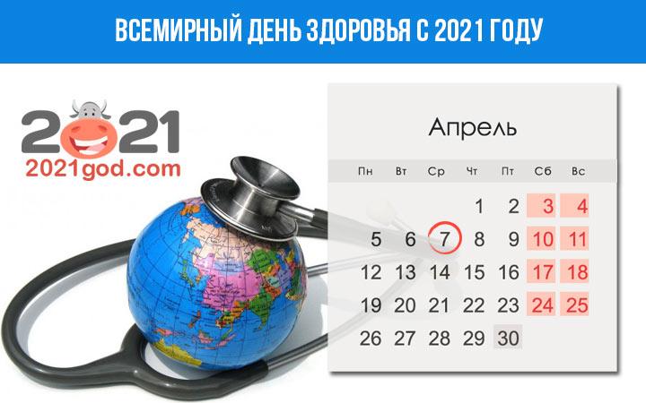 День здоровья в 2021 году - дата