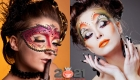 Яркий арт-макияж на Новый Год 2021