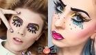 Арт-макияж в стиле поп-арт на Новый Год 2021