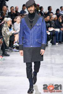 Мужская мода - деним сезона осень-зима 2020-2021