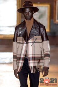 Модные комбинированные куртки осень-зима 2020-2021