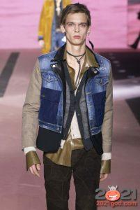 Многослойные и комбинированные куртки - мужская мода осень-зима 2020-2021