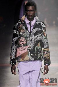 Модные принты для мужской куртки 2020-2021