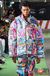 Яркие принты для модной мужской куртки 2020-2021