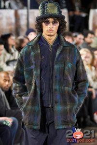 куртка в клетку - тренд мужской моды 2020-2021 года