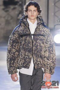 Зоологический принт - модные куртки для мужчин 2020-2021