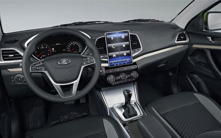Интерьер Lada Vesta 2021