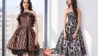 пышные коктейльные платья на Новый Год 2021