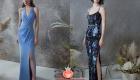 Длинное вечернее платье на Новый Год 2021