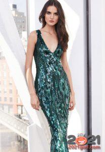 Платье с пайетками на Новый Год 2021